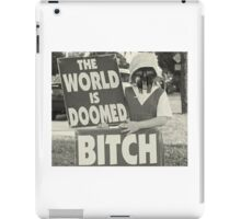 The World Is MF DOOMED iPad Case/Skin