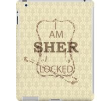Vintage I am Sherlocked iPad Case/Skin
