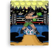 Champion of the Ring!!! Canvas Print