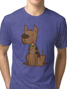 Scooby-dooby-doo.. Tri-blend T-Shirt
