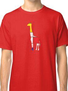 Art Giraffe- Neoplasticism Classic T-Shirt