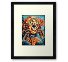 Gold Philippine's Framed Print