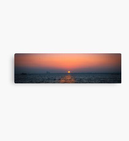 Sunset over Prince island Canvas Print