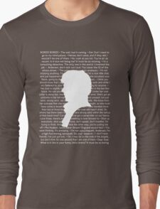 SHERLOCK Best of Quotes Long Sleeve T-Shirt