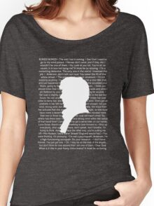 SHERLOCK Best of Quotes Women's Relaxed Fit T-Shirt