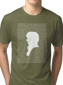 SHERLOCK Best of Quotes Tri-blend T-Shirt