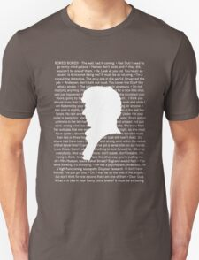 SHERLOCK Best of Quotes Unisex T-Shirt