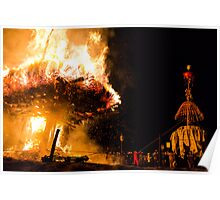 Nozawa Fire Festival Poster