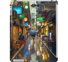 Rainy Day in Bohemian Melbourne iPad Case/Skin