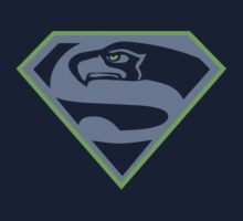 Seattle Seahawks NFL Fans Funny t-shirt Superhawk Limited S-2XL by scheme710
