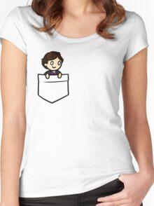 PocketSherlock Women's Fitted Scoop T-Shirt