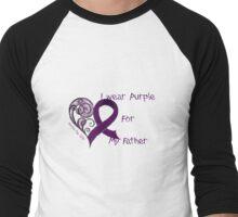Charity Fundraiser - Purple Day for Epilepsy Awareness I wear purple Men's Baseball ¾ T-Shirt