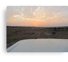The Kenyan Sunrise Canvas Print