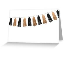 CELEBRATION TASSEL  Greeting Card