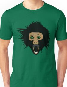Screaming Monkey Unisex T-Shirt