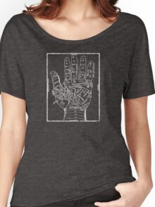 Ancient Palm Reading Chart Women's Relaxed Fit T-Shirt