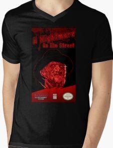 Elm Street NES Mens V-Neck T-Shirt