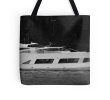 Luxury Motor Yacht Tote Bag