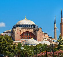 Beautiful Hagia Sophia by Dobromir Dobrinov