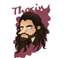 iPhone & Samsung Galaxy Cartoon Case - Thorin [white] by sebabybaby