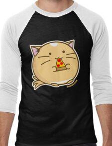 Fuzzballs Pizza Cat Men's Baseball ¾ T-Shirt