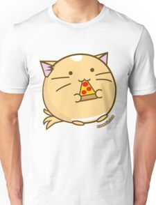 Fuzzballs Pizza Cat Unisex T-Shirt