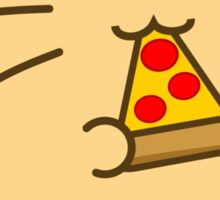 Fuzzballs Pizza Cat Sticker