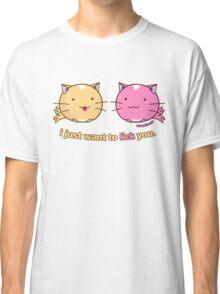 Fuzzballs I Just Want To Lick You Classic T-Shirt