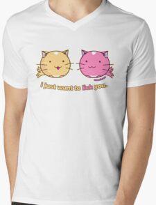 Fuzzballs I Just Want To Lick You Mens V-Neck T-Shirt