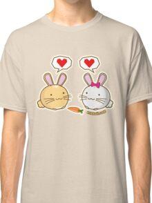 Fuzzballs Bunny Love Carrot Classic T-Shirt