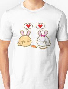 Fuzzballs Bunny Love Carrot T-Shirt