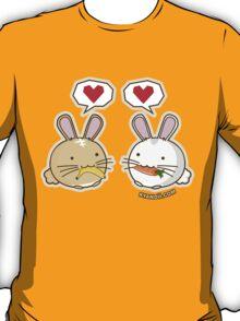 Fuzzballs Bunny Food Love T-Shirt