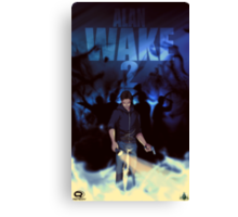 Alan Wake 2 Fan Poster Canvas Print