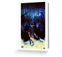 Alan Wake 2 Fan Poster Greeting Card