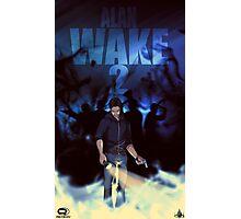 Alan Wake 2 Fan Poster Photographic Print