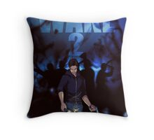 Alan Wake 2 Fan Poster Throw Pillow