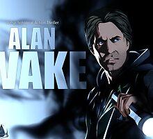 Alan Wake Fan poster by InvisibleRain