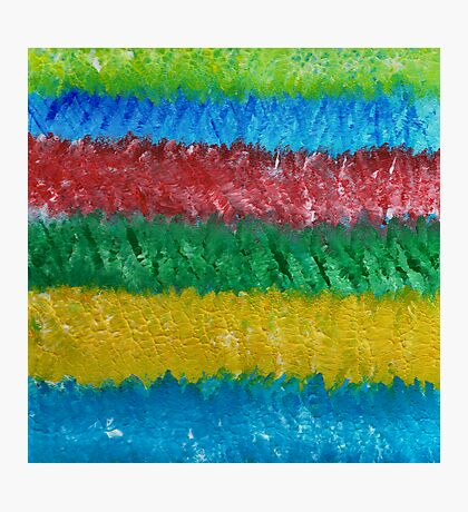 OCEAN OF COLORS Photographic Print
