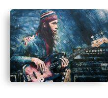 Portrait of Jaco Pastorius Canvas Print
