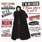 Jon Snow Quotes by QuinOfWesteros