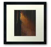 Way through the woods Framed Print