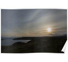 Sundogs over Skye Poster