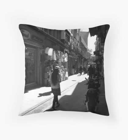 The shadows Throw Pillow