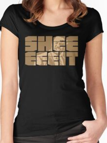 The Senator's Sheeeit Women's Fitted Scoop T-Shirt