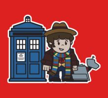 Mitesized 4th Doctor Kids Clothes