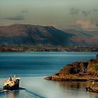 Leaving Oban on a fine morning by Islandsimages