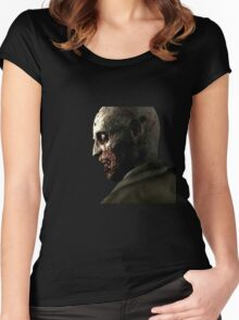 The First Zombie Women's Fitted Scoop T-Shirt