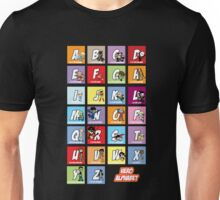 Justice League of Alphabet Unisex T-Shirt
