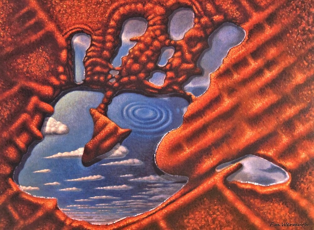 Hand of God by FrankWermuth