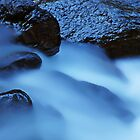 Cristal Cascades at Night by Imi Koetz